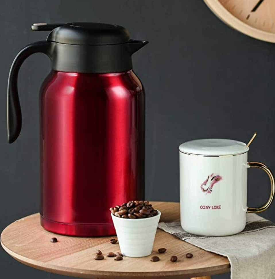 coffee carafe for coffee station