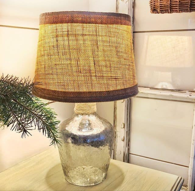 how to create a mercury glass lamp