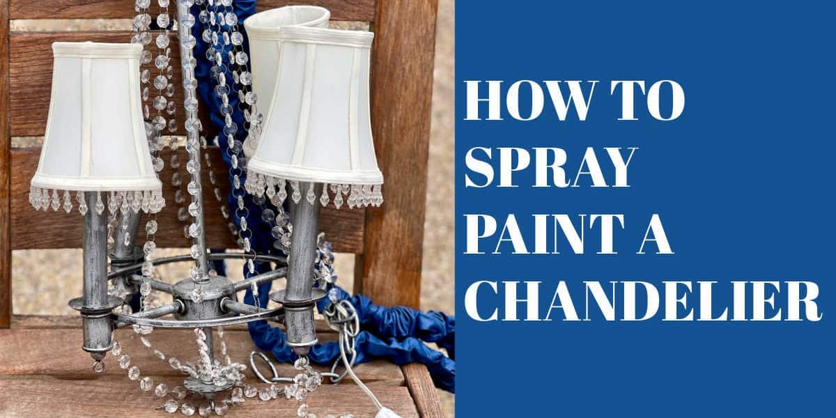 How to Paint a Chandelier