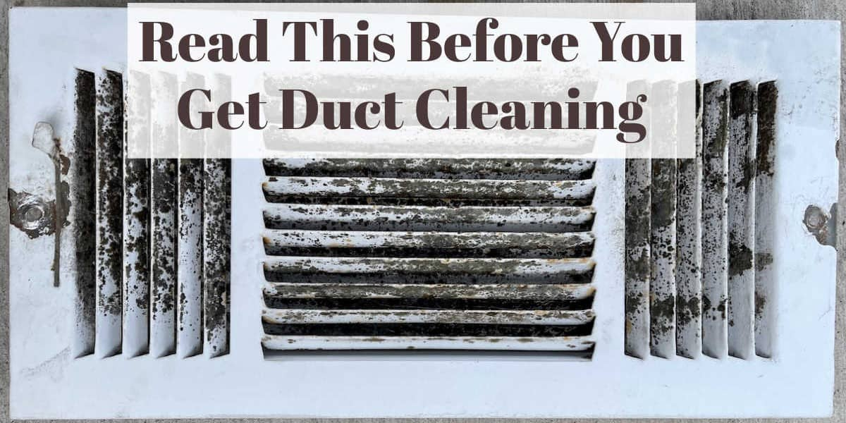 Is Duct Cleaning A Waste Of Money?