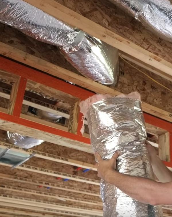 flexible HVAC duct