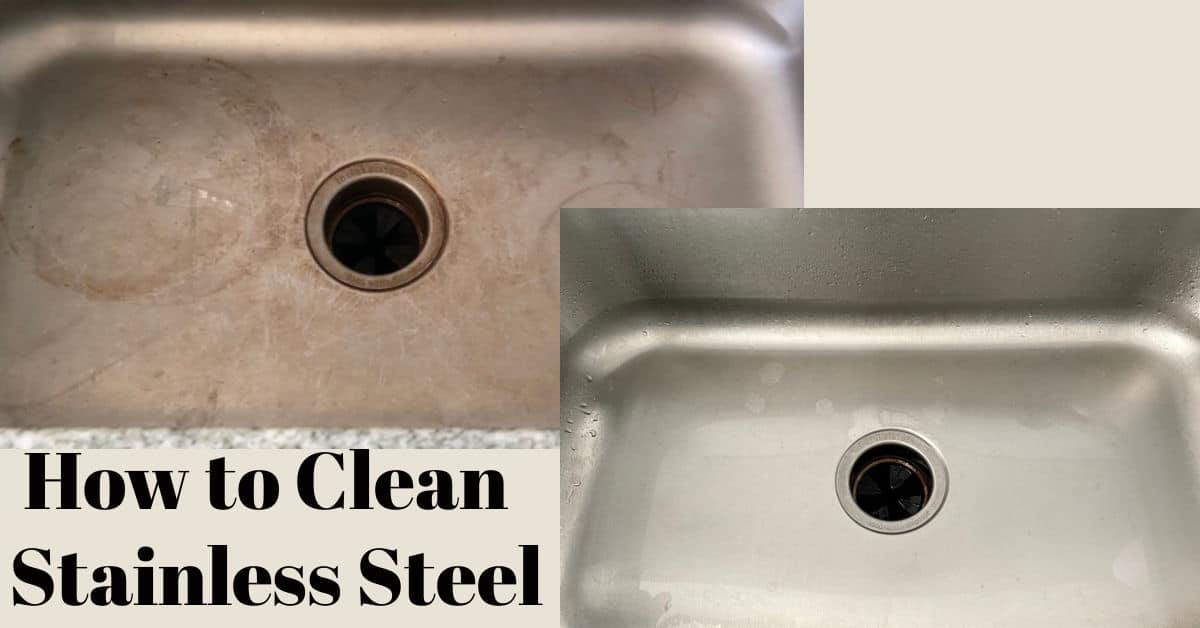 How to Clean A Stainless Sink