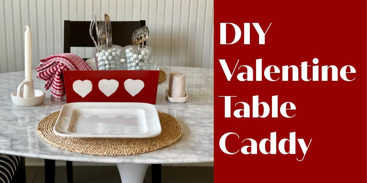 Easy Valentines Centerpiece