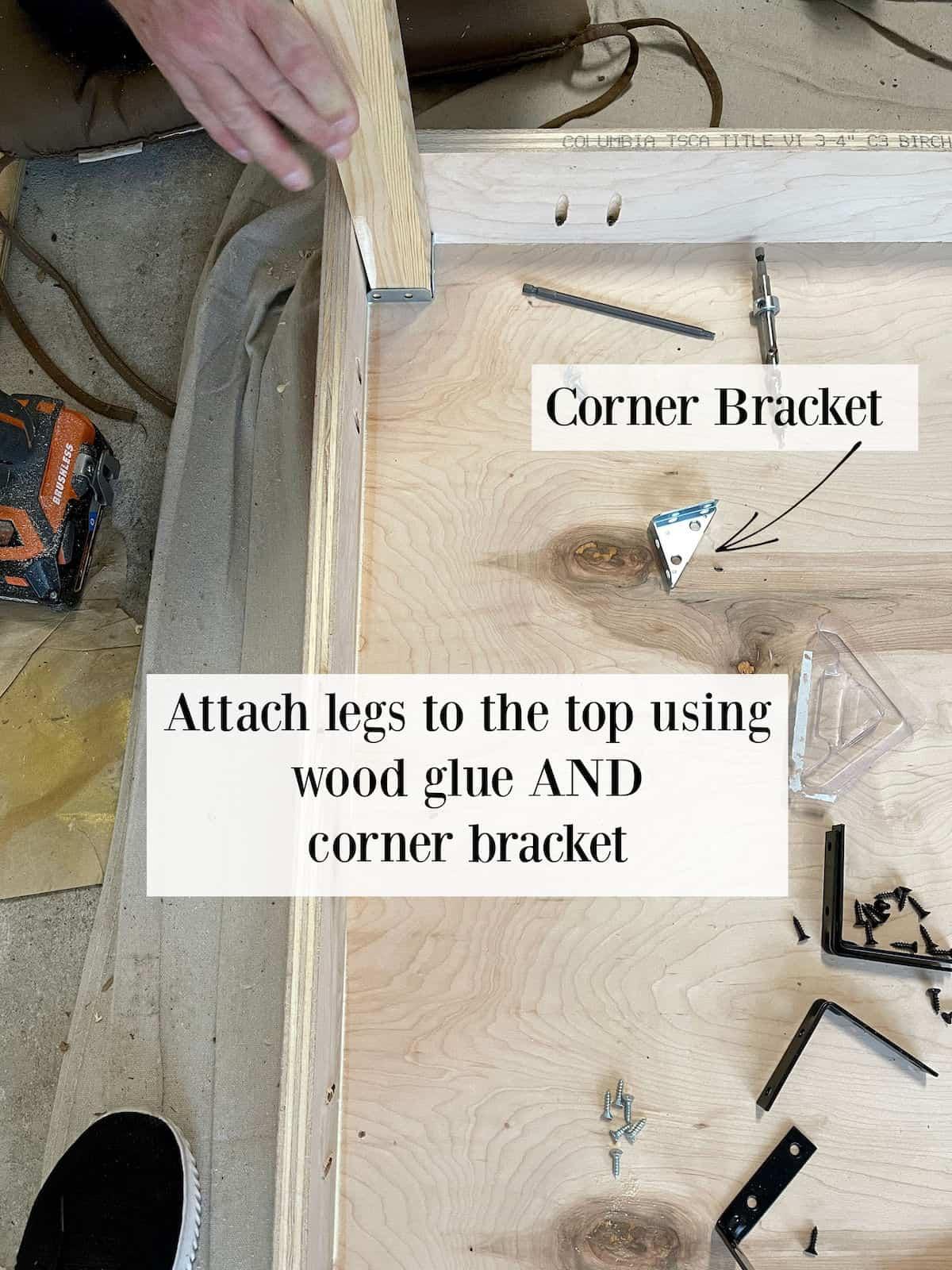 corner desk plans