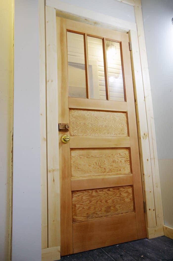 building a storage room