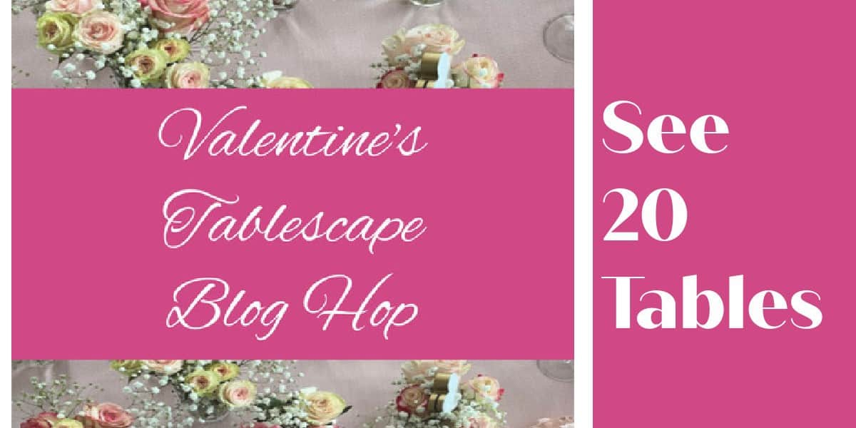 Valentines table hop
