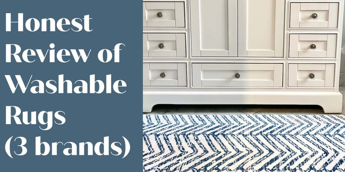 washable rug review