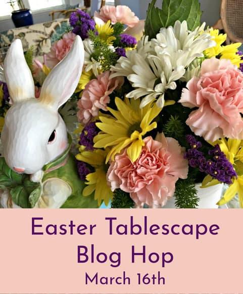 Easter tablescape hop