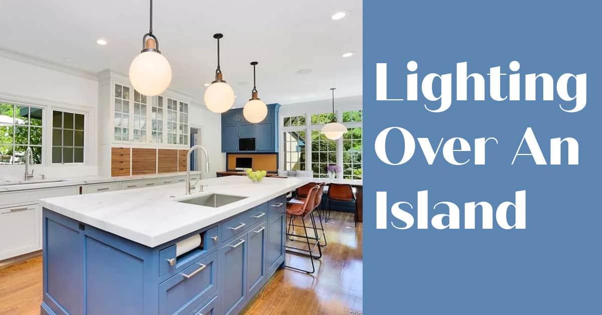 Lighting Over An Island