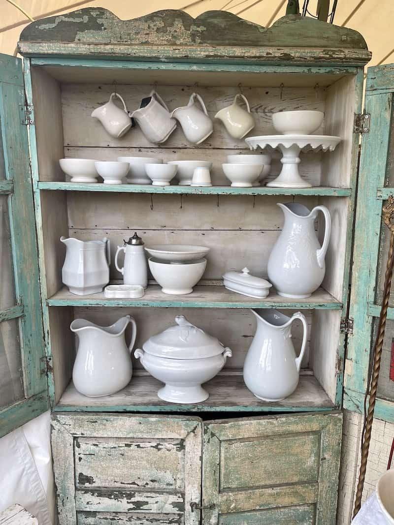 iron stone pottery