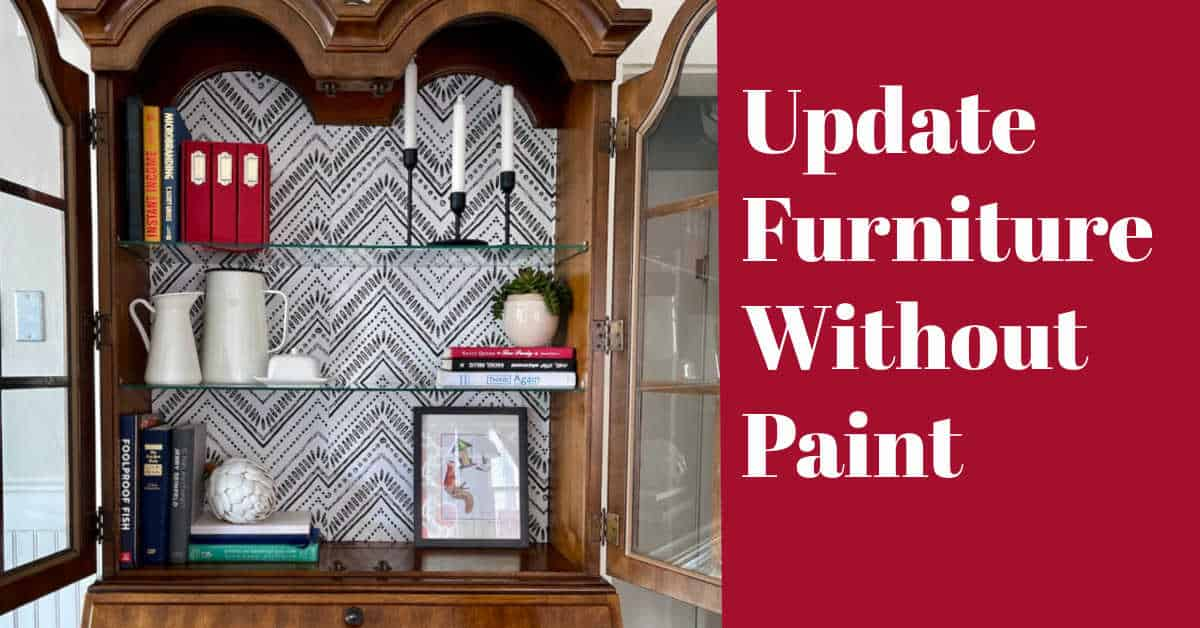 How to Update Furniture Without Paint