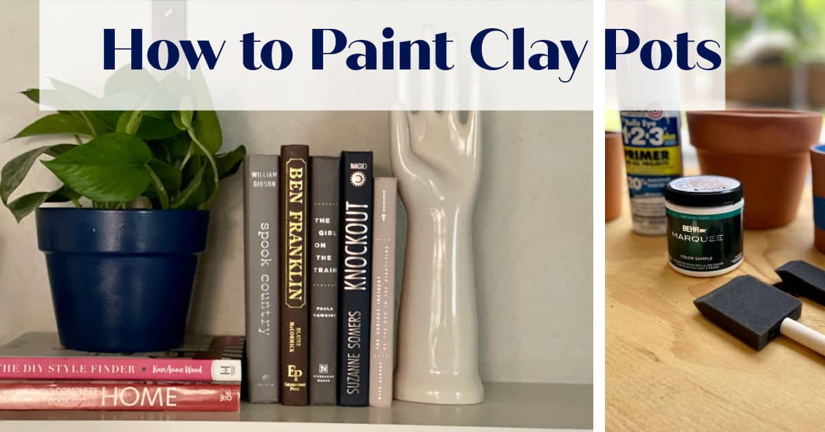 Get One Of A Kind Planters With Paint