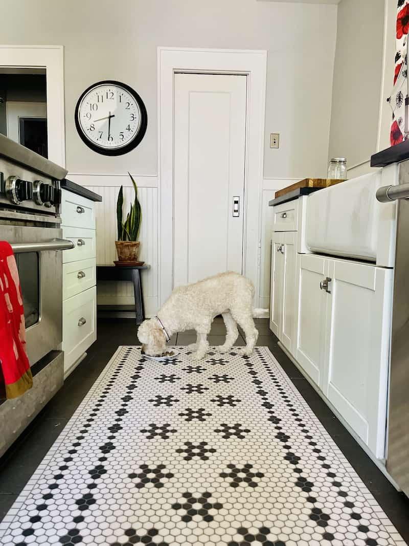 vinyl mat for kitchen