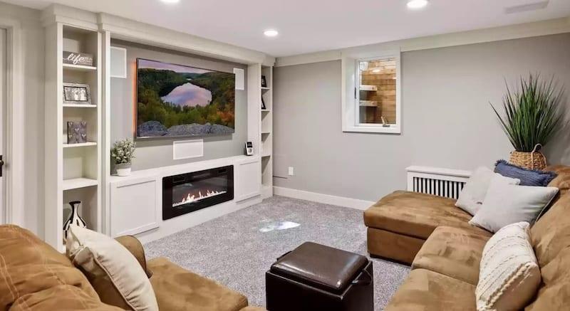 basement floor to ceiling height