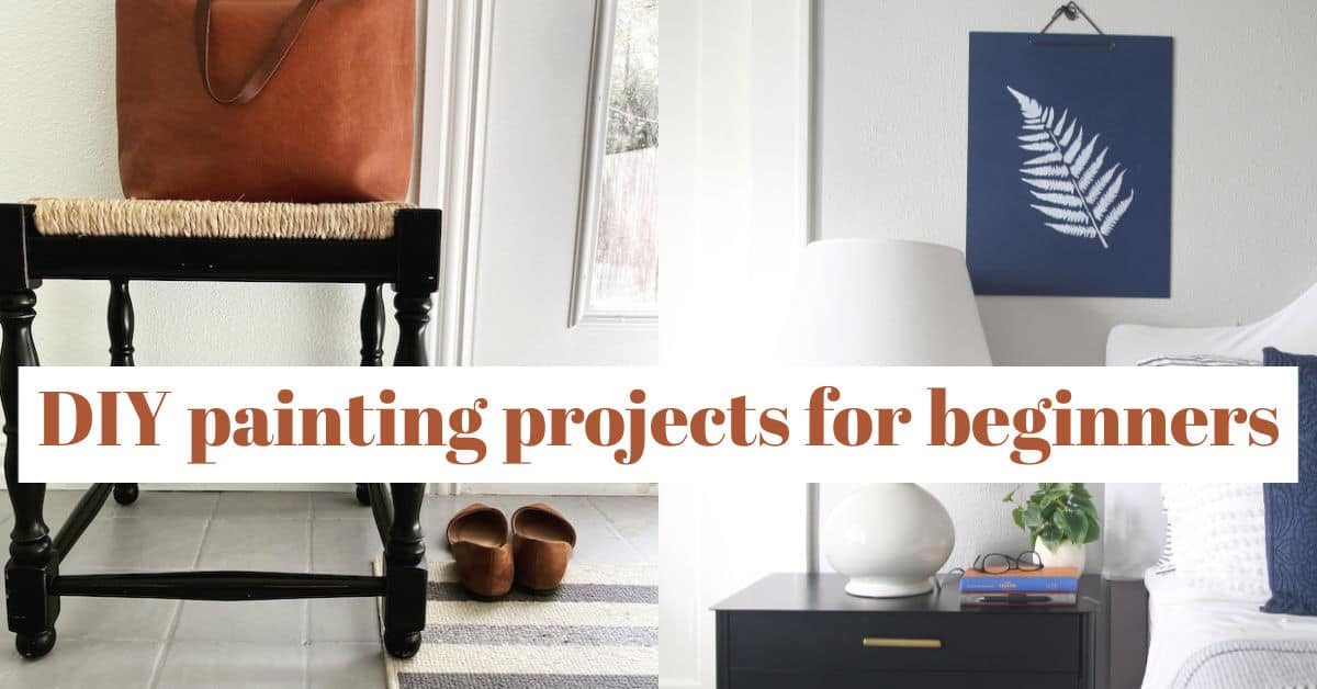 beginner painting projects
