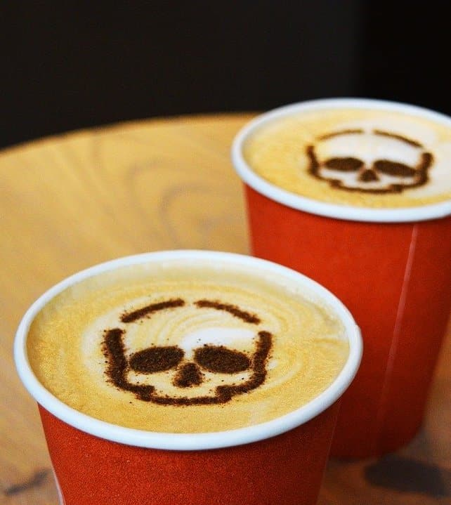 smells of fall pumpkin spice latte