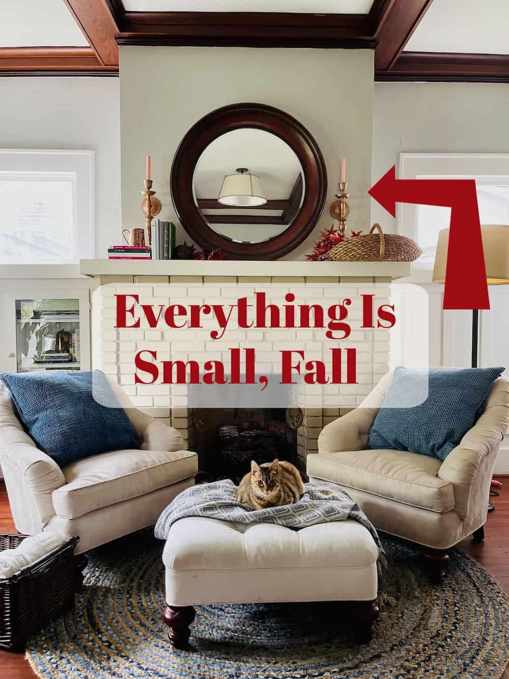 Adding a statement piece to fall decor