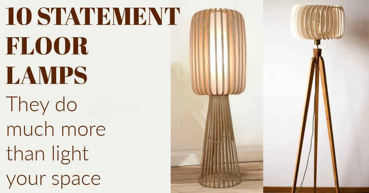 10 Statement Floor Lamps That Do More Than Just Light Up A Room